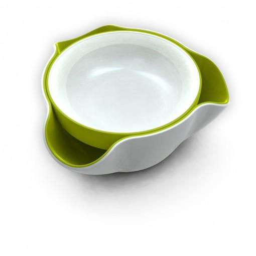 Double Dish - White