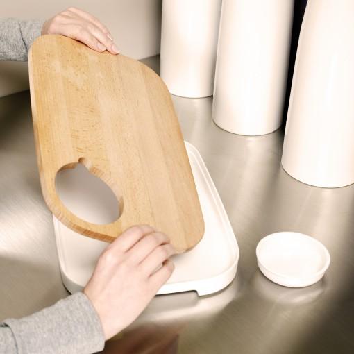 Slice&Serve - rotating lid