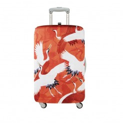LOQI-MUSEUM-woman-haori-with-white-and-red-cranes-luggage-cover-web.1