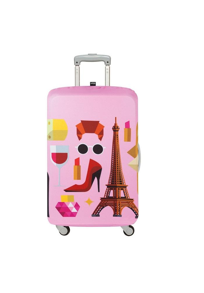 153bfc1922c2 LOQI – HEY STUDIO (Medium Size)- Paris Luggage Cover