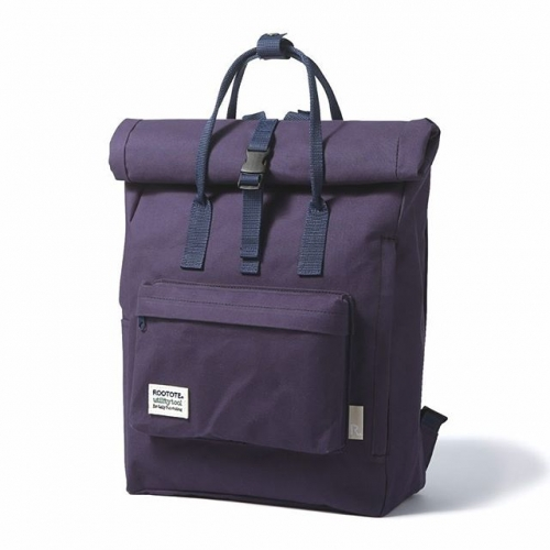 Rootote -  日系簡約防捲蓋式背包- NAVY (www.modmod.club) 原價$549,本週大割價$399  #japan#rootote#totebag#backpack#背包#割引#減價促銷 #totebag#travel#eco#ecobag#mod#modmod#modmodclub#catlovers#catlovers#moma#disneyhk#fashion#hongkong#tst#fashion#gifts#giftideas#vangogh#starrynight#loqi_hk#monet#cats#dogs#pets#woof🐾