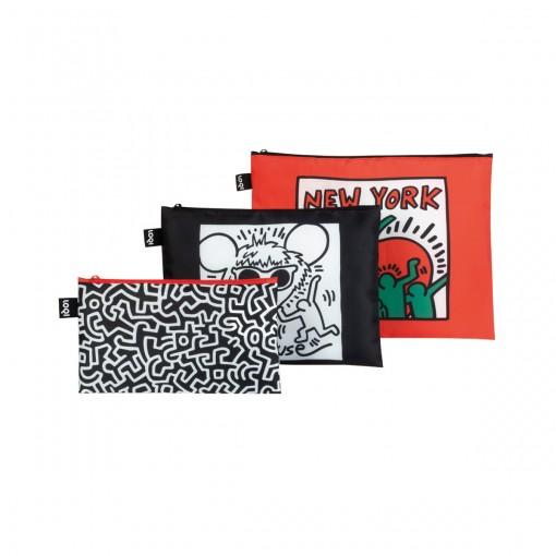 LOQI-ZipPocketsetof3MuseumCollection-KeithHaring_media.01